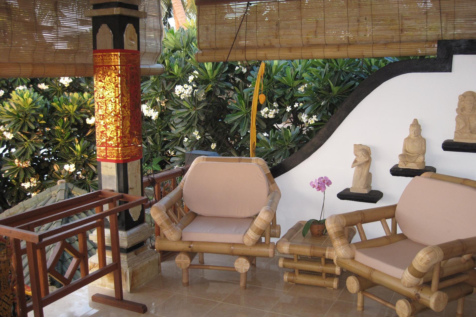 Raja Suite veranda
